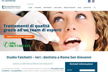 esempio sito web dentista